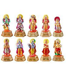 Dashavatara - 10 Incarnation of Lord Vishnu