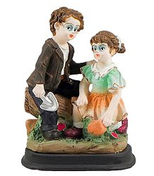 Buy Doll Statue of Plaster of Paris