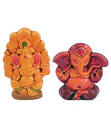 Terracotta Statues of Ganesha