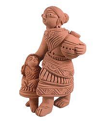 Buy Online Terracotta Statue