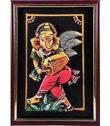 Terracotta Musician Ganesha - Online Shop