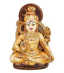Lord Shiva - Terracotta Statue