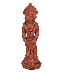 Bengali Bride - Terracotta Statue