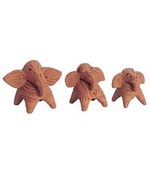 Buy Terracotta Elephants