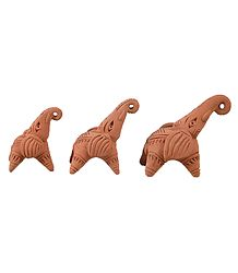 Buy Online Clay Elephants