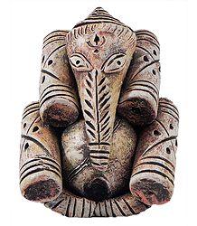 Ganesha in Tribal Style