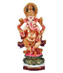 Lord Ganapati - Terracotta Statue