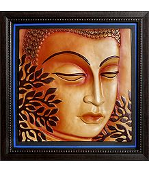 Lord Buddha - Terracotta Wall Hanging