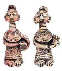 Buy Terracotta Tribal Women
