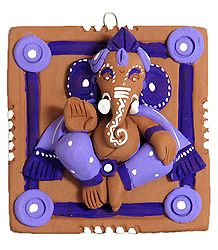 Terracotta Lord Ganesha - Wall Hanging