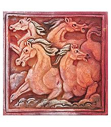 Galloping Horses - Wall Hanging