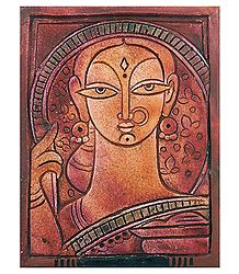 Terracotta Bengali Woman