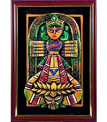 Tribal Durga Wall Hanging