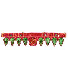 Buy Embroidered Cloth Door Toran