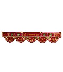Buy Embroidered Cloth Door Toran