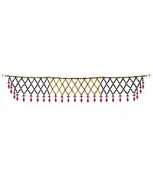 Beaded Door Toran - Decorative Door Hanging