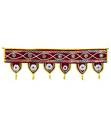 Cloth Door Toran - Decorative Door Hanging
