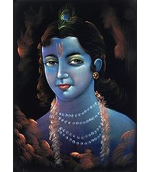 Face of Lord Krishna