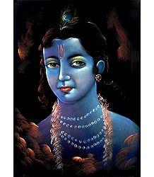 Face of Lord Krishna