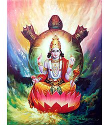 Kurma Avatara - Incarnation of Vishnu - Poster