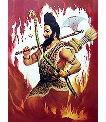 Parashurama - Incarnation of Vishnu - Poster