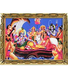 Buy Anantashayan Vishnu Picture