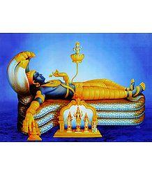 Anantashayan Vishnu - Poster