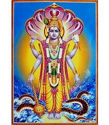 Buy Online Lord Vishnu Poster