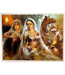 Banjara Beauties - Poster