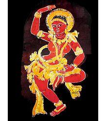 Ajanta Temple Dancer - Poster