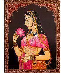 The Elegant Rajput Queen