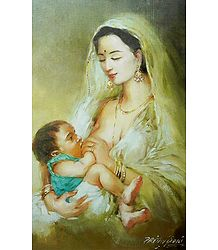Mother and Child - Poster
