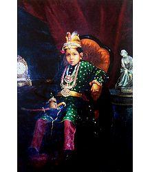 Ravi Varma Reprint on Paper