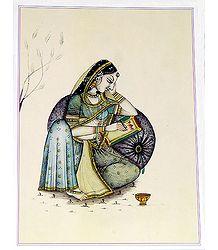Rajput Lady - Poster