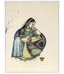 Rajput Lady
