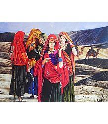 Women Folk of Rajasthan