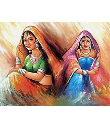 Rajasthani Ladies