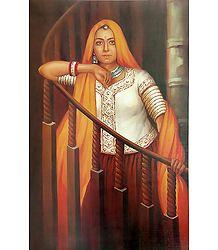 Buy Rajasthani Woman Poster