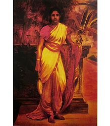 Buy Online Ravi Varma Reprint on Paper