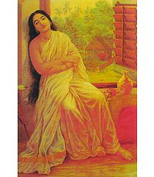 Buy Online Raja Ravi Varma Reprint on Paper