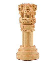Wooden Ashoka Stambha