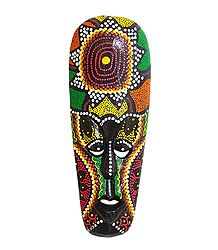 African Tribal Mask - Wall Hanging Mask