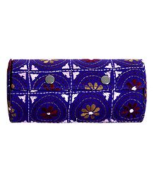 Embroidered Cloth with Cardboard Bangle Box