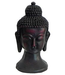 Face of Buddha - Wood Dust Statue