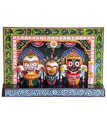 Jagannath, Balaram and Subhadra