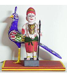 Murugan - Kondapalli doll