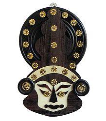 Kathakali Face (wall Hanging)