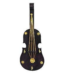 Violin Key Rack with Three Hooks - Wall Hanging