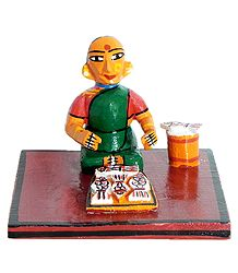 Buy Kondapalli Wooden Doll