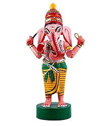 Lord Ganesha - Kondapalli Doll